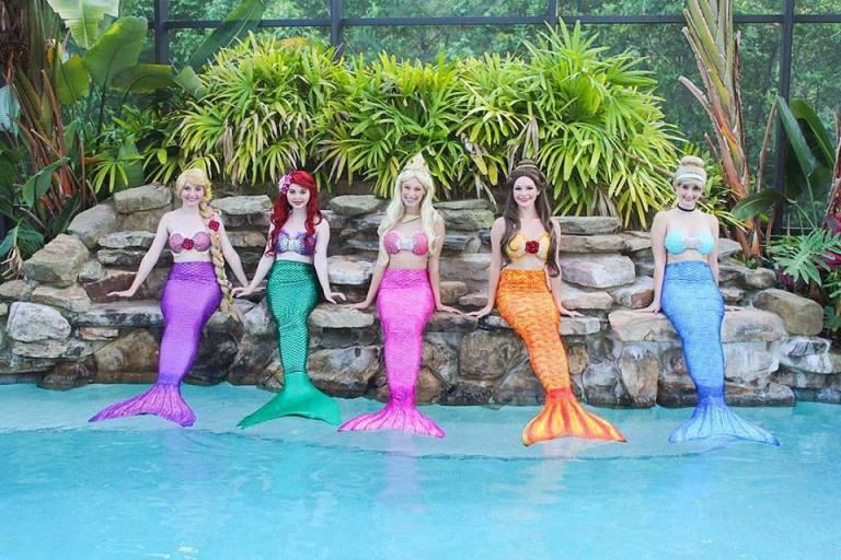 Princess Mermaids Jacksonville and St Augustine