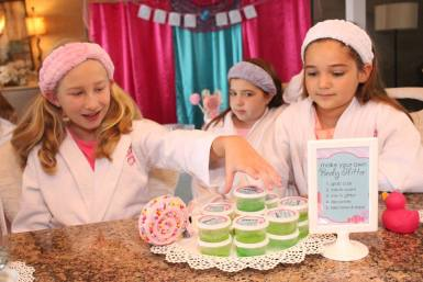 Spa Craft Birthday Party