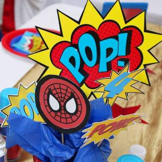 Superhero Birthday Party Planner