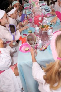 Sweet Spa Facials Birthday Party