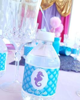 Swimming Mermaid Birthday Party