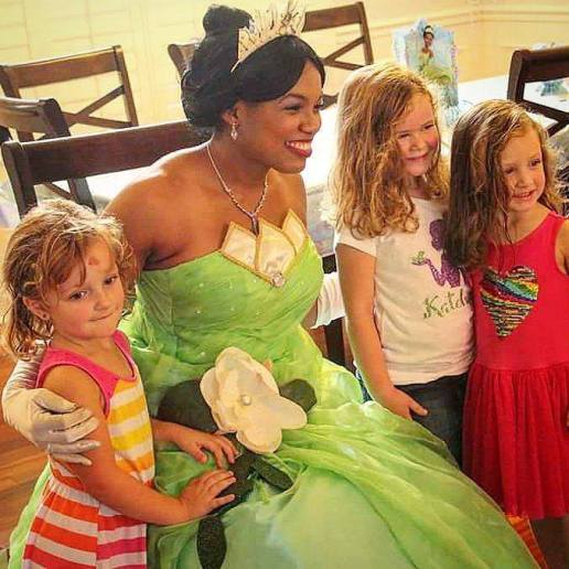 Tiana Frog Princess Party