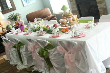 Tinkerbell Tea Party Birthday