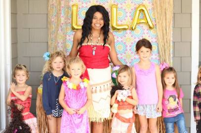 Moana Hawaiian Princess Party Birthday Jacksonville