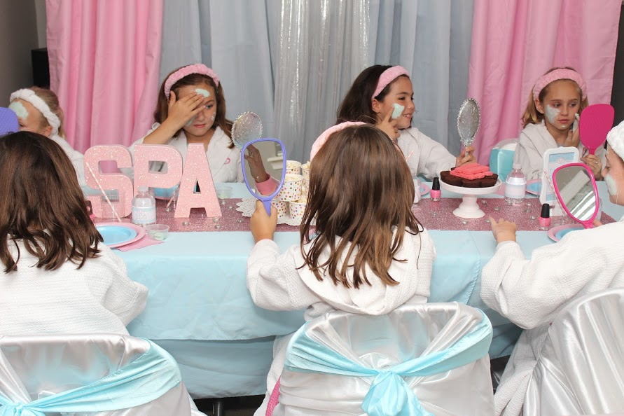 Spa Birthday Party Ideas for Kids by Girly-Girl Partea's