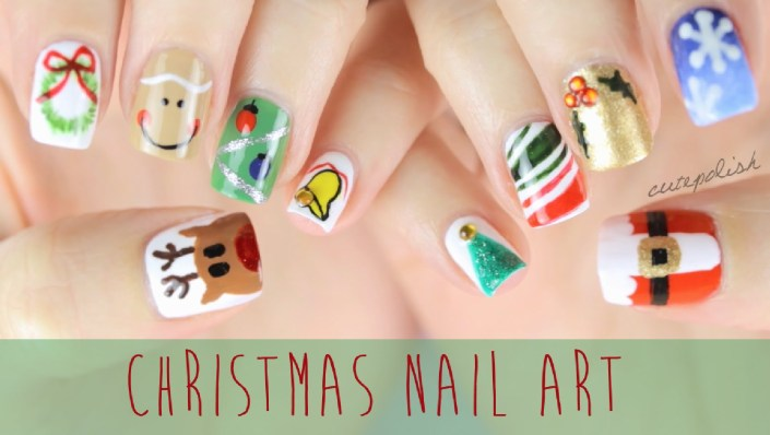 Best Designs For Christmas Nail Arts