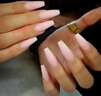 Coffin/Ballerina Shape Nails