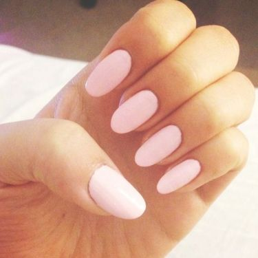 Oval Shape Nails