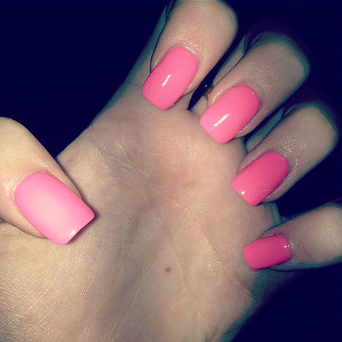Squoval Shape Nails