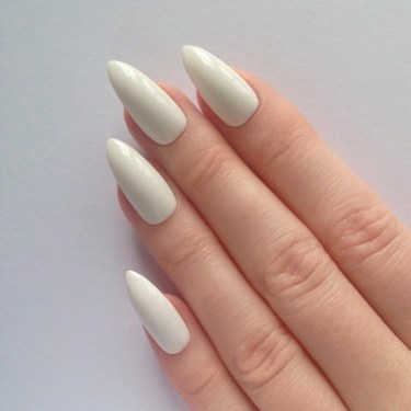 Stiletto Shape Nails