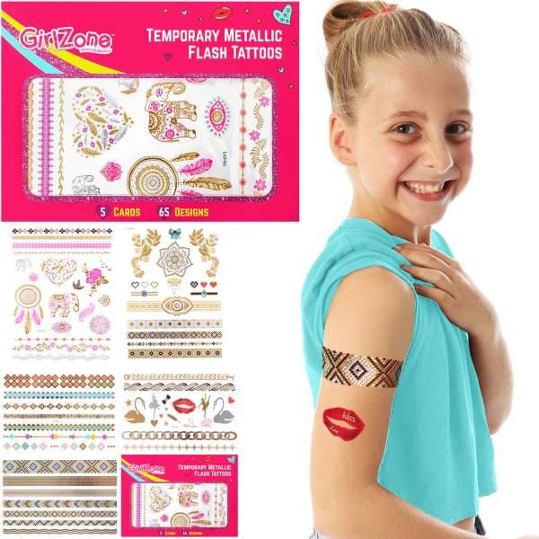 sparkle temporary tattoos girls