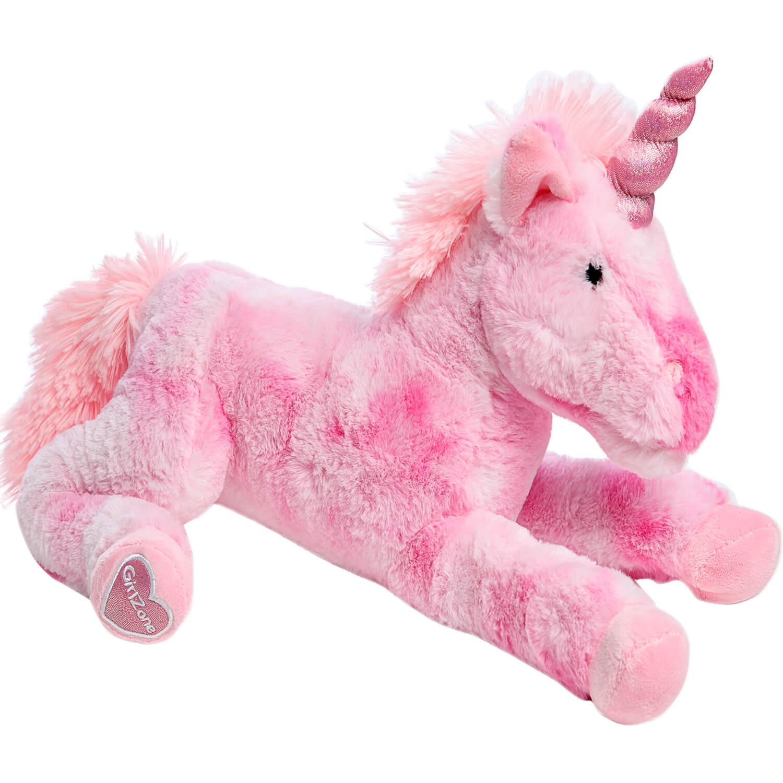 large pink unicorn stuffed