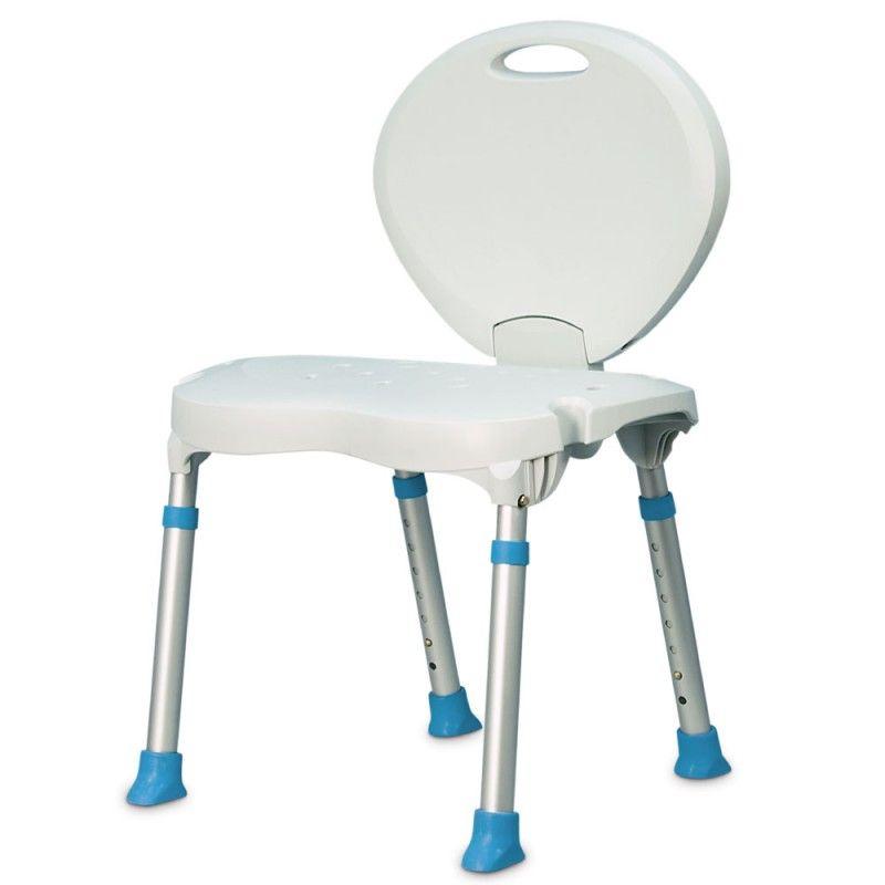 chaise de bain pliable novo life nl 770 525