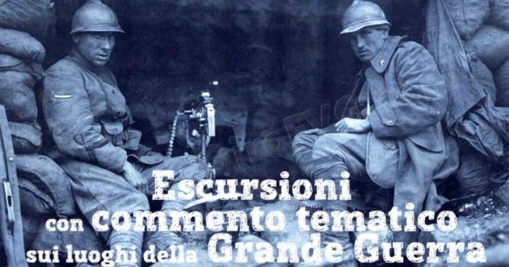 Escursioni storiche sulle tracce della Grande Guerra