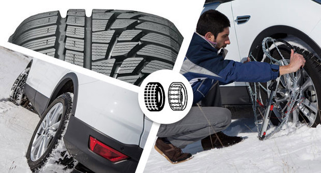Dal 15 novembre 2020 sulle strade del FVG obbligo di pneumatici da neve o catene a bordo