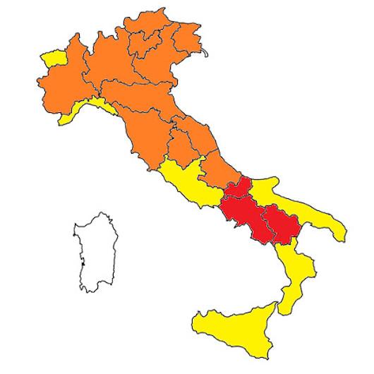 Regione Friuli Venezia Giulia Cartina.Nuovo Decreto Fino Al 30 Aprile Solo Zona Rossa E Arancione Giro Fvg