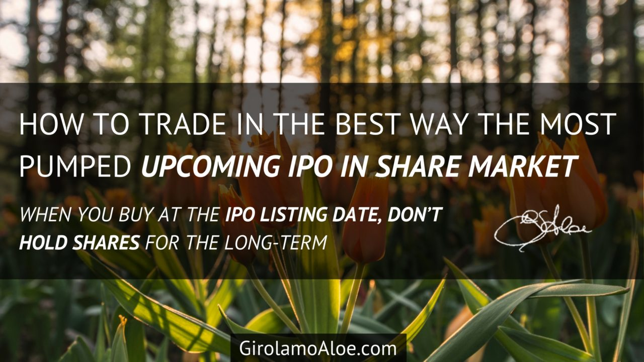 How to Trade in the Best Way the Most Pumped Upcoming IPO in Share Market