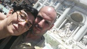 Fontana di Trevi - Gianfranco e Monica
