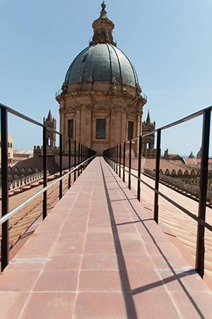 I tetti dalla Cattedrale