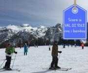 Sciare in Val di Sole con i bambini