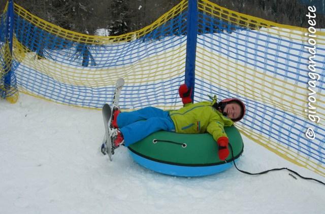 Sciare in Val di Sole con i bambini - Daolasa Kids