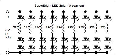Two simple power LED driver