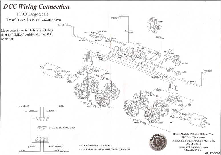 Dcc Locomotive Wiring Diagram : 29 Wiring Diagram Images