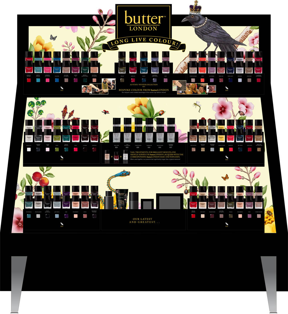 butter London Packaging