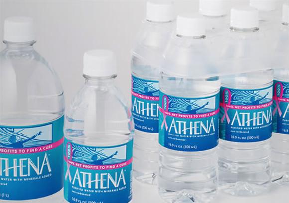 Athena Bottle Labeling