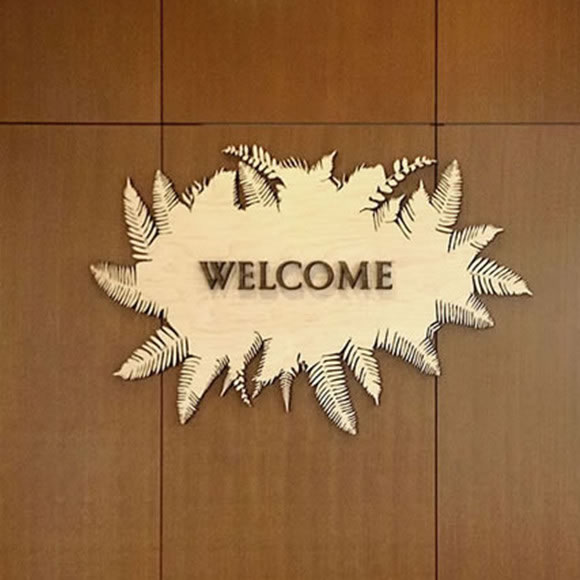 SCCA Proton Therapy Welcome Signage