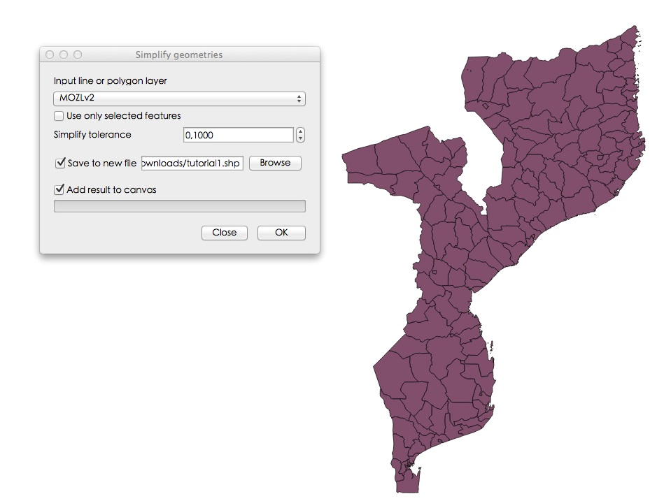 Minimalist leaflet map example | GIS-Blog com