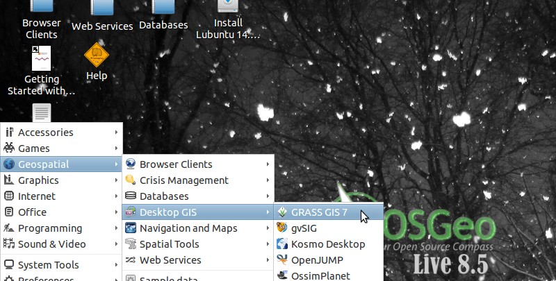 osgeolive gis open source ubuntu