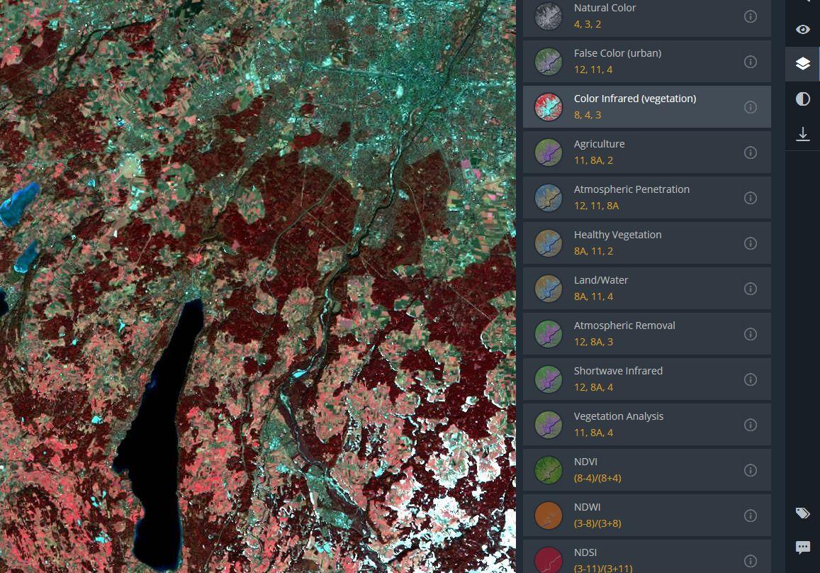 EOS Land Viewer – Best-in-Class? | GIS-Blog com