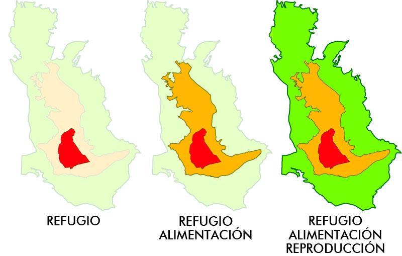 zonas de cmpeo y modelos de distribución potencial de especies