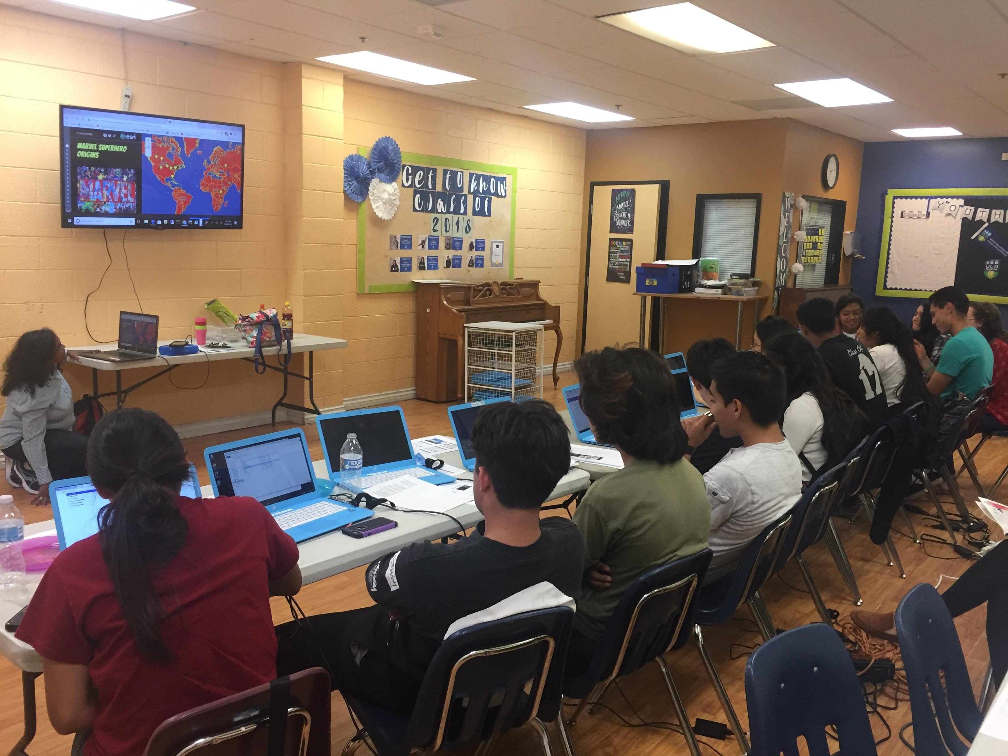 Giscorps Educators Selected Project In Santa Ana