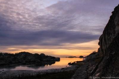 Sunrise in Barkevika by Erol Haagenrud-1