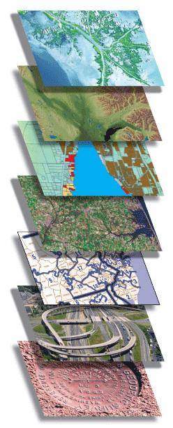Layers of GIS Data