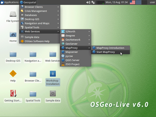 OSGeo-Live - bootable DVD with open source GIS preloaded.