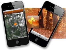The Timmons Group developed this fall foliage mobile GIS application for the Missouri Department of Conservation.