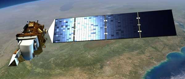 Artistic concept of Landsat 9. Source: NASA.