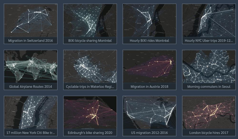 Flowmap.blue examples