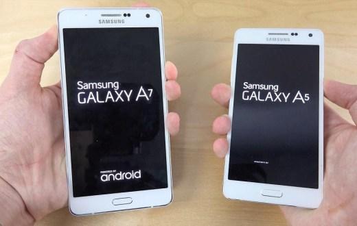 Samsung Galaxy A3 and A5