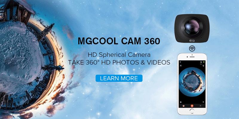 MGCOOL CAM 360 - The world's first consumer level underwater panorama camera