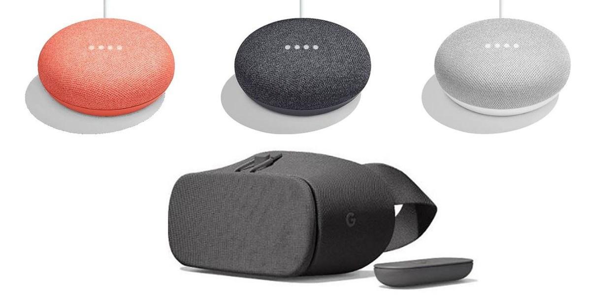 Google daydream Home Mini