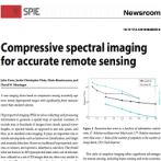 Compressive-spectral-imaging-for-accurate-remote-sensing