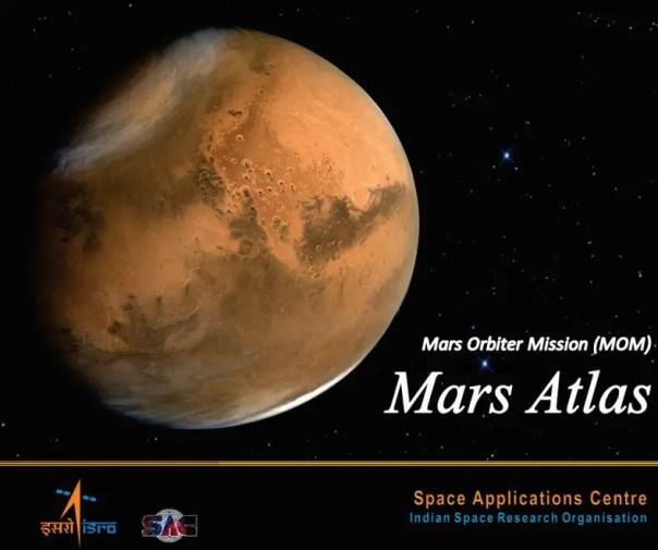 Mars Atlas_ISRO