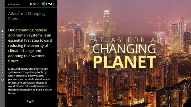 atlas para un planeta cambiante