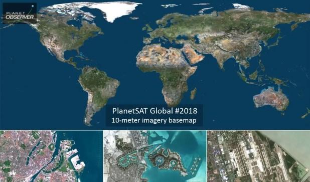 PlanetSAT Global Imagery