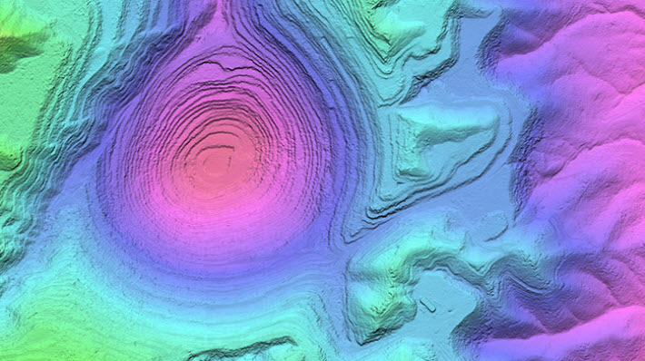 Shaded-Relief Map Layers