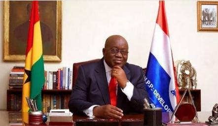 President Akufo-Addo Of Ghana Swears-In 12 New Ministers